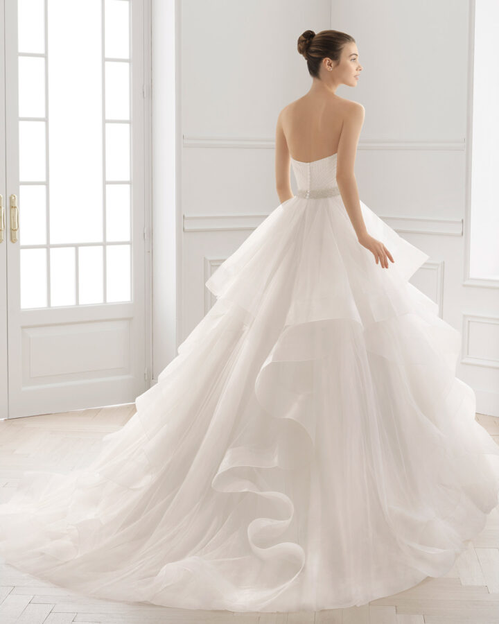 Brudekjole Medit ryg