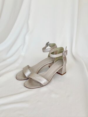 Brudesko-Sandal-Lyserød-Læder