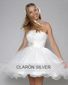 Konfirmationskjoler fra Clarón - Silver