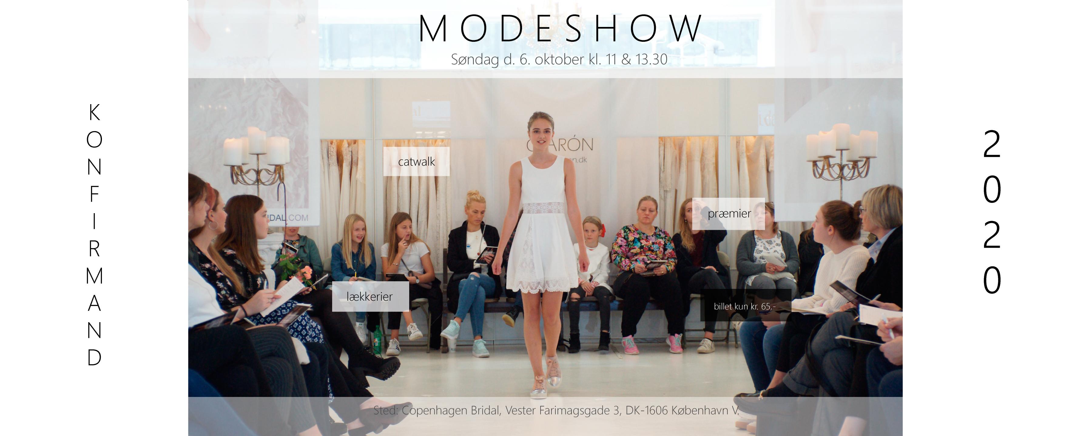 Modeshow for konfirmander 2020