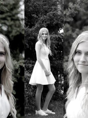 Sophies konfirmation Collage