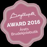 Stem på Copenhagen Bridal som årets brudekjole butik
