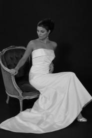 Brudekjole JH-06 i satin