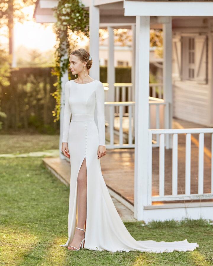 Brudekjole 2022 - Rosa Clará - Lanta 1