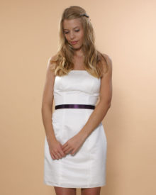 1510 med separat satin kjole