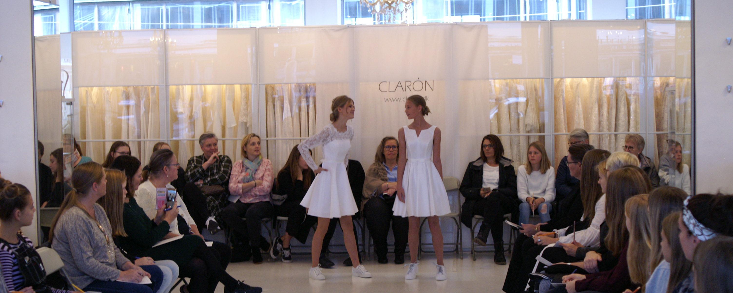 Modeshow konfirmationskjoler 2020